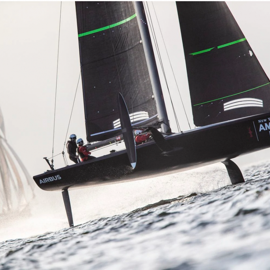 MULE A SPEEDY WORKHORSE FOR AMERICAN MAGIC SAILING CREW - Latest